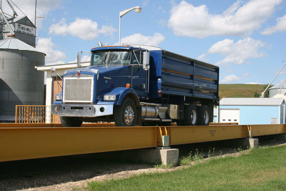 Side Rail Truck Scale Design